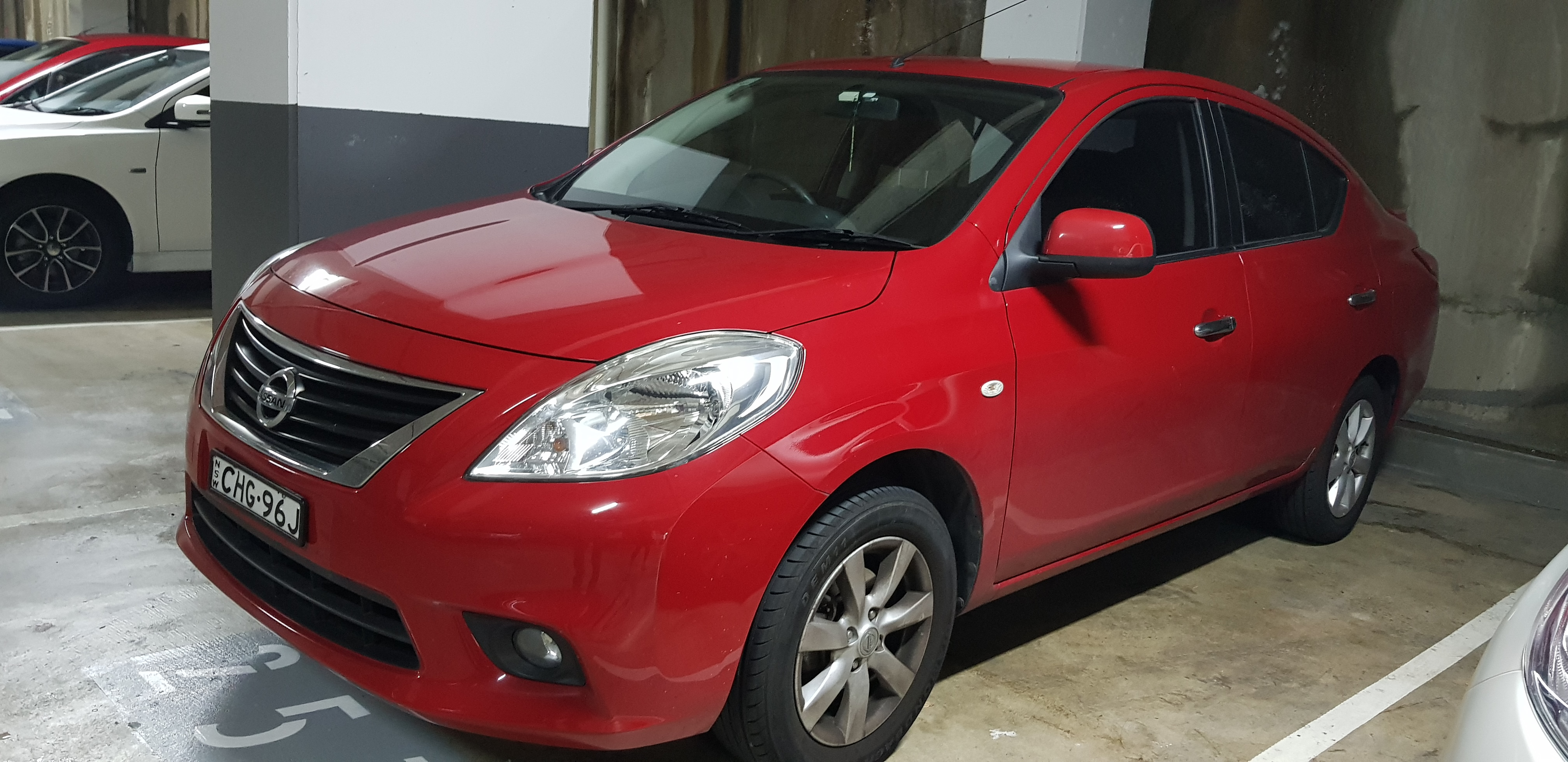 Picture of Bhanu's 2012 Nissan Almera
