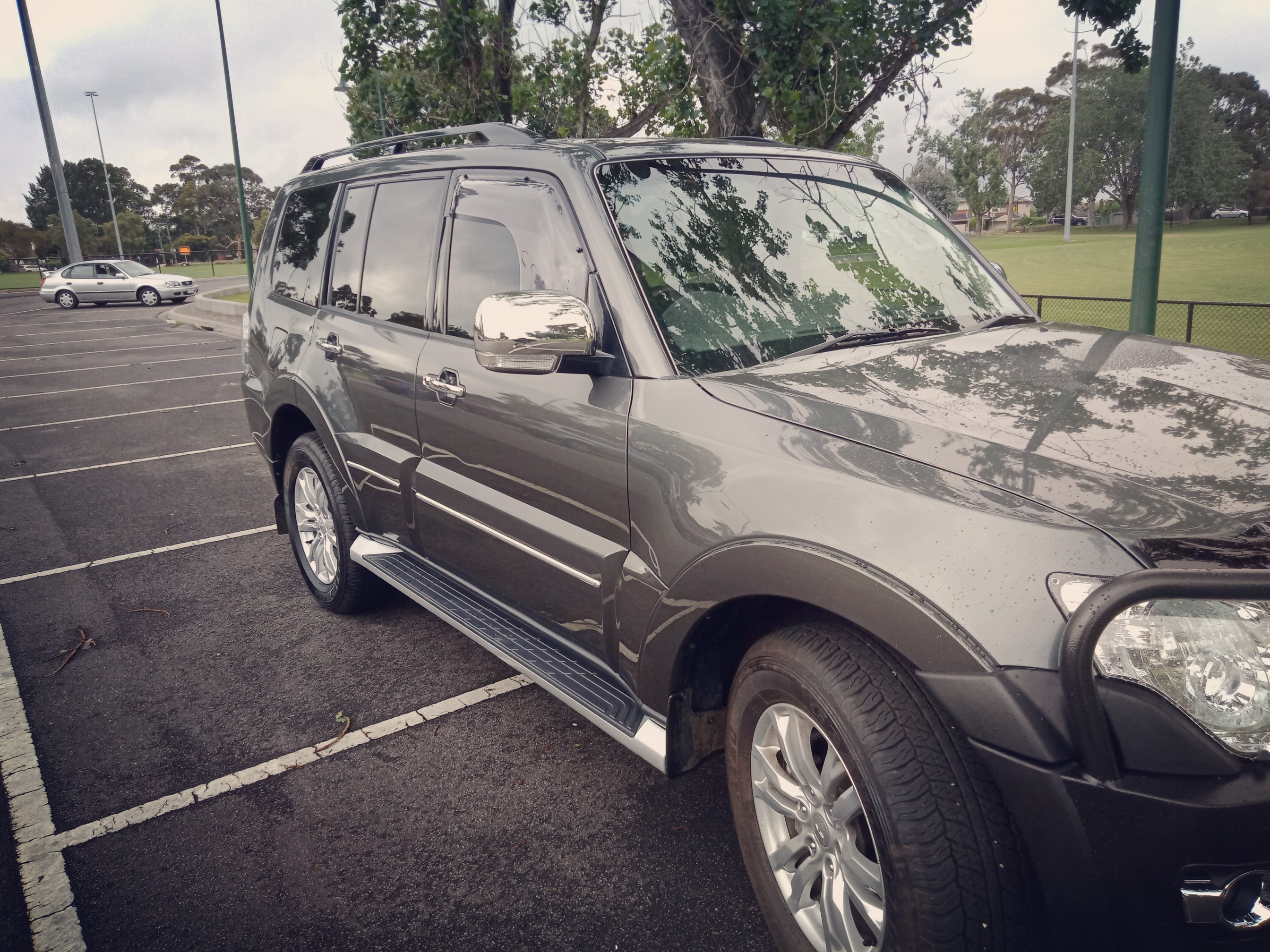 Picture of Simon's 2018 Mitshubishi Pajero