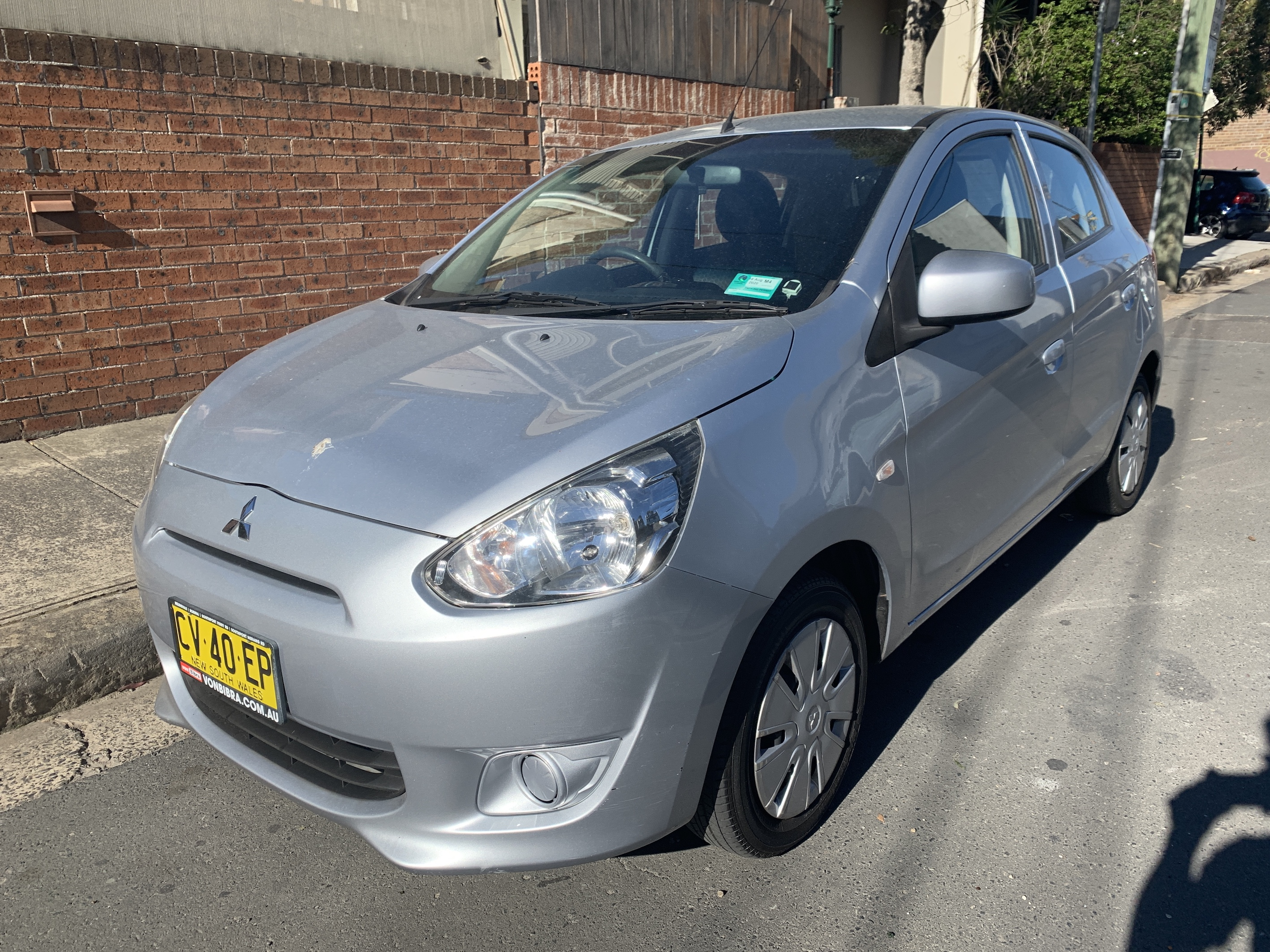 Picture of Jordan's 2014 Mitsubishi Mirage