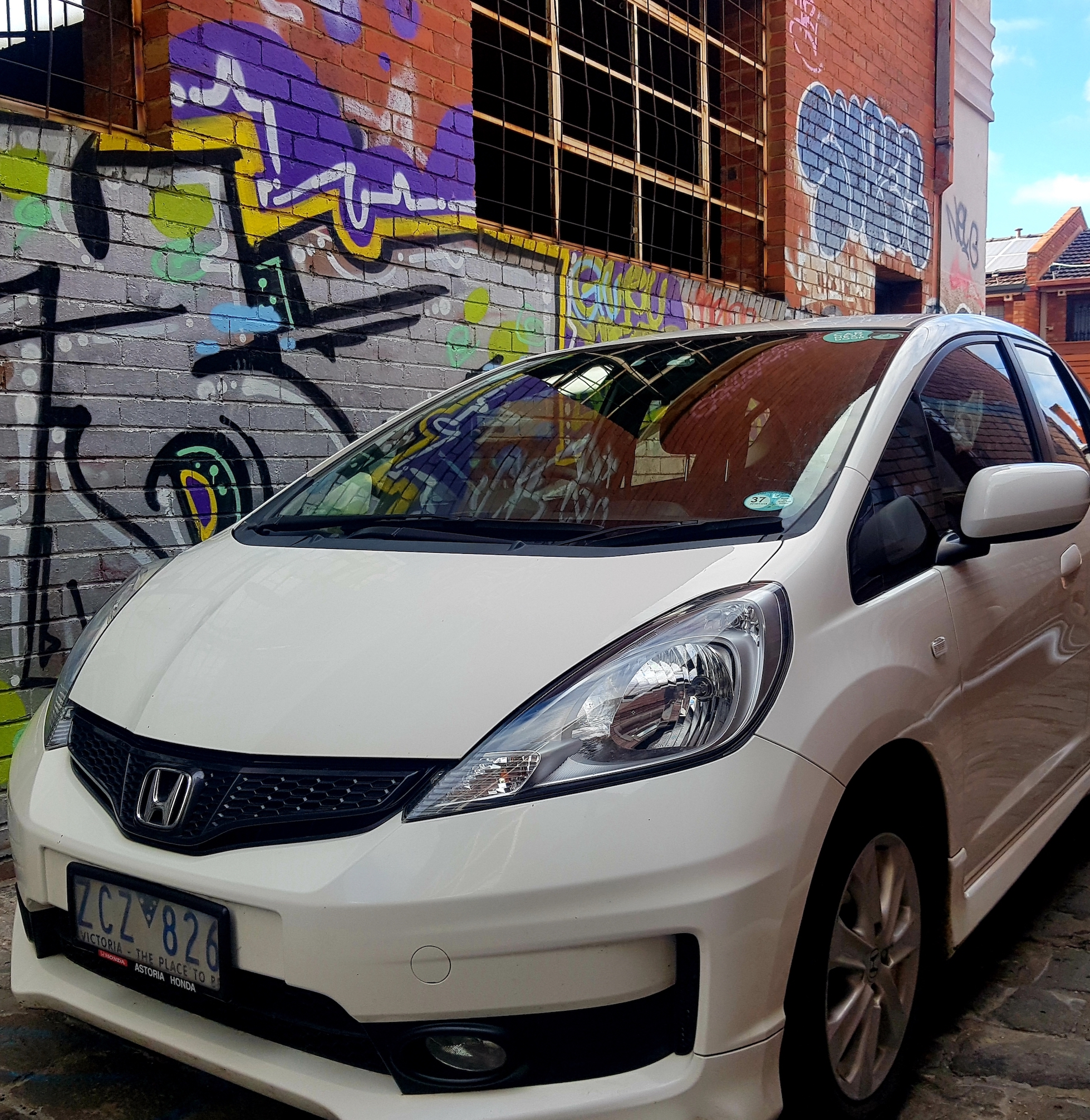 Picture of Brylee's 2012 Honda Jazz
