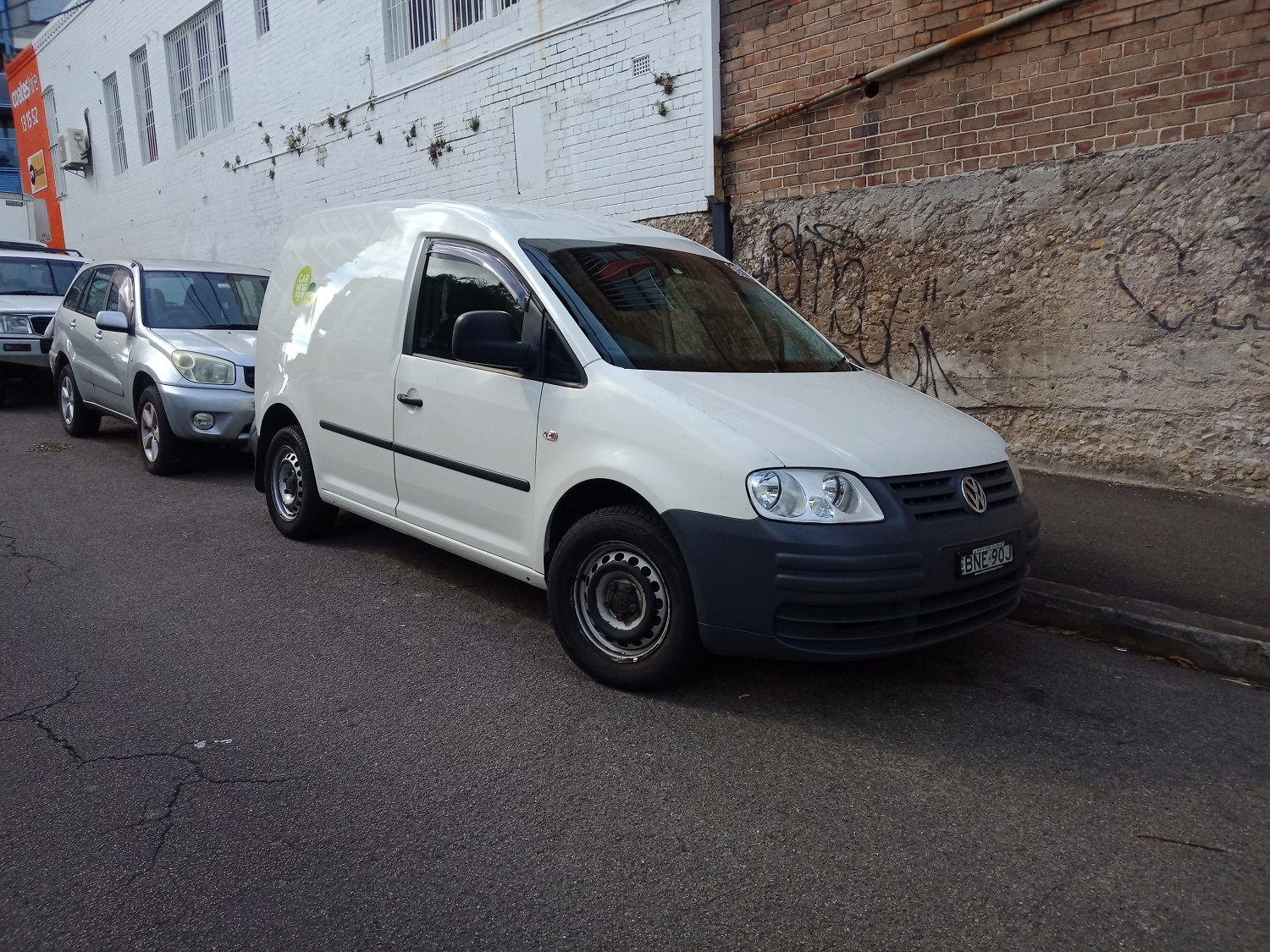 Picture of Rowan's 2008 Volkswagen Caddy