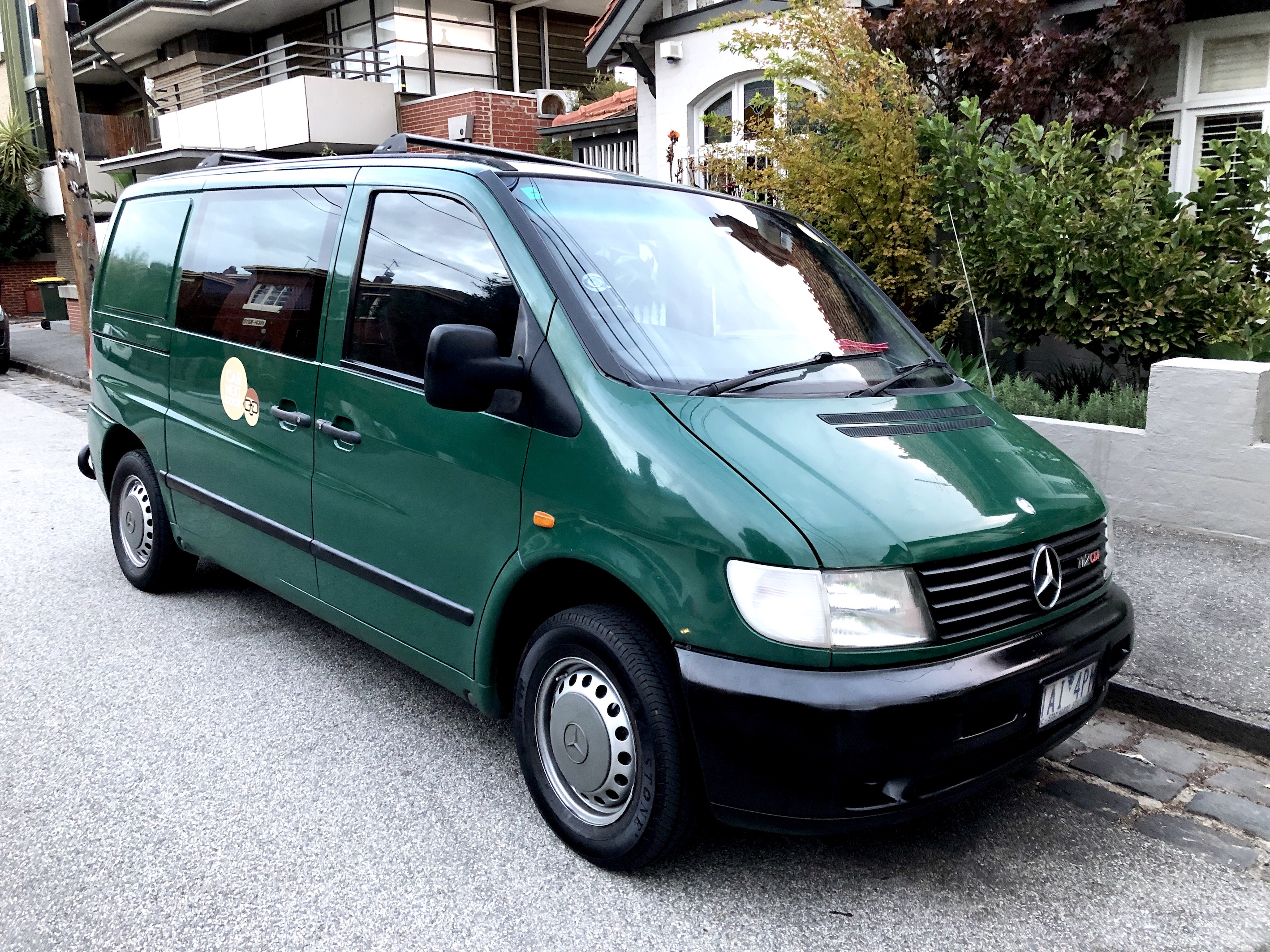 Picture of Albert's 2002 Mercedes Vito