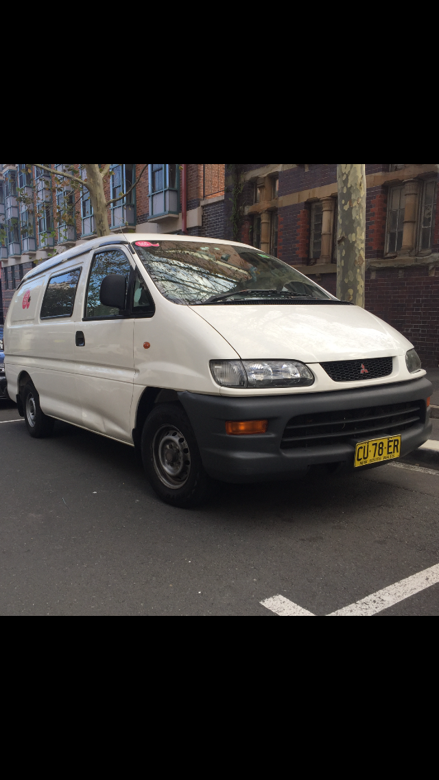 Picture of Brad's 2002 Mitsubishi Express