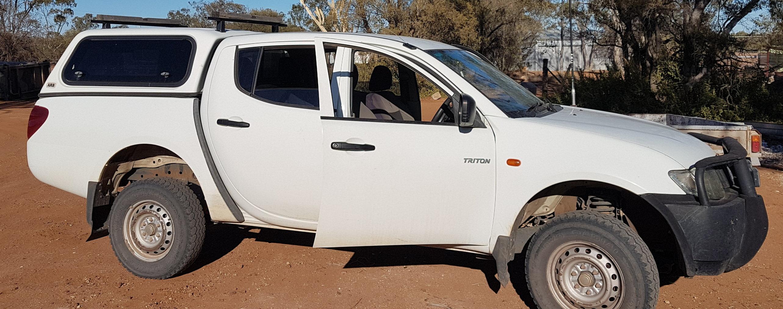 Picture of Rebel's 2012 Mitsubishi Triton